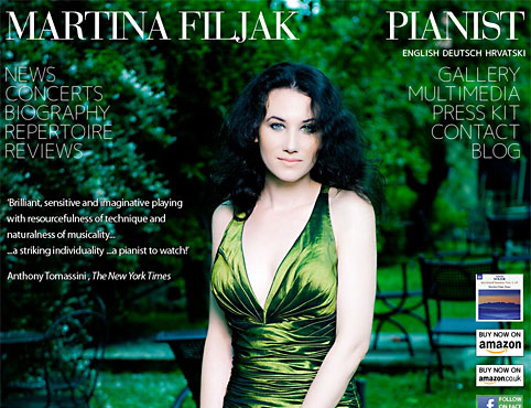 The official website of pianist Martina Filjak.