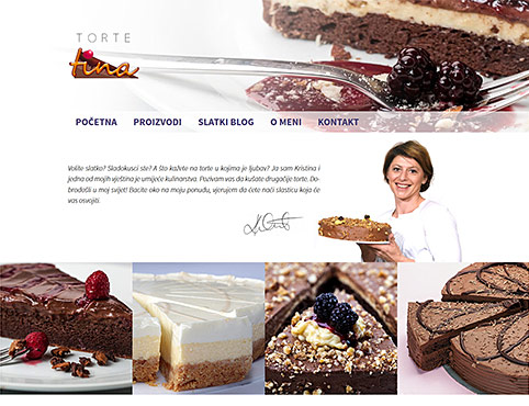 Torte Tina, delicious pastries in Zagreb!