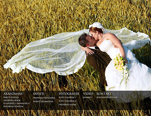 Wedding studio Time - wedding photography in Zagreb